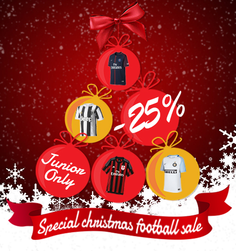Junior ONLY -25% Special Christmas Football Sale