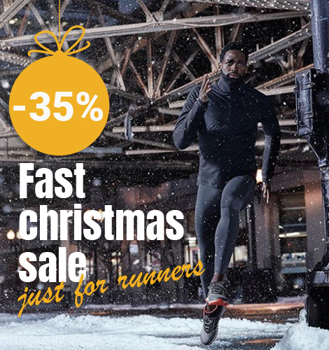 Just for RUNNERS -35% Fast Christmas SALE