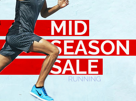 Mid season sale Running